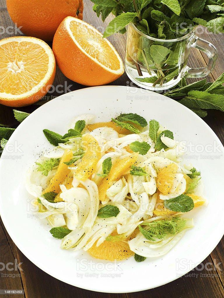 Salad stock photo