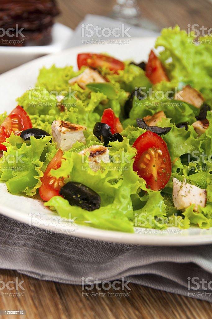 Salada foto royalty-free