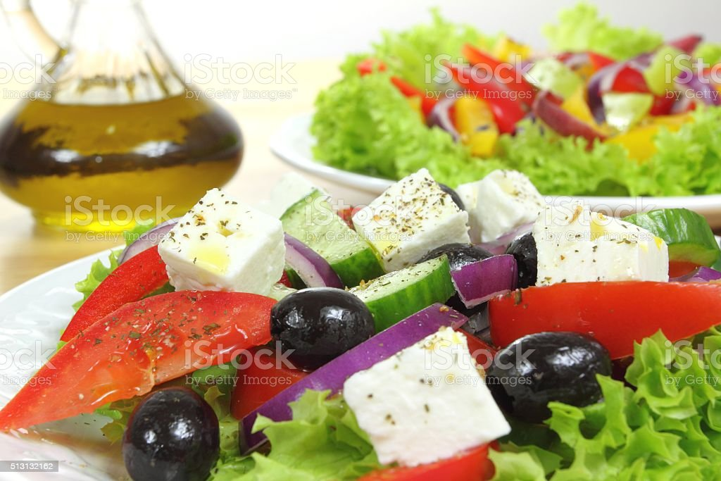 Salad. stock photo