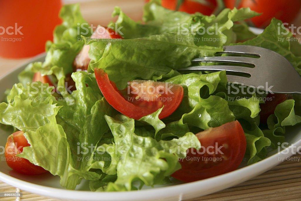 Salad. royalty-free stock photo