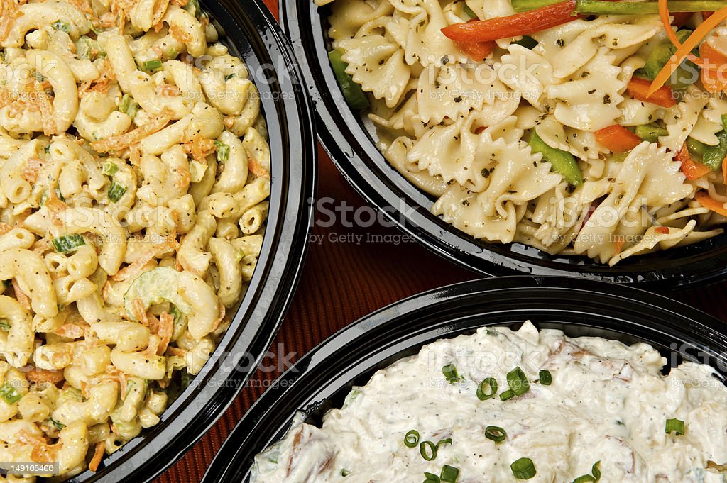 Salad Side Dishes stock photo