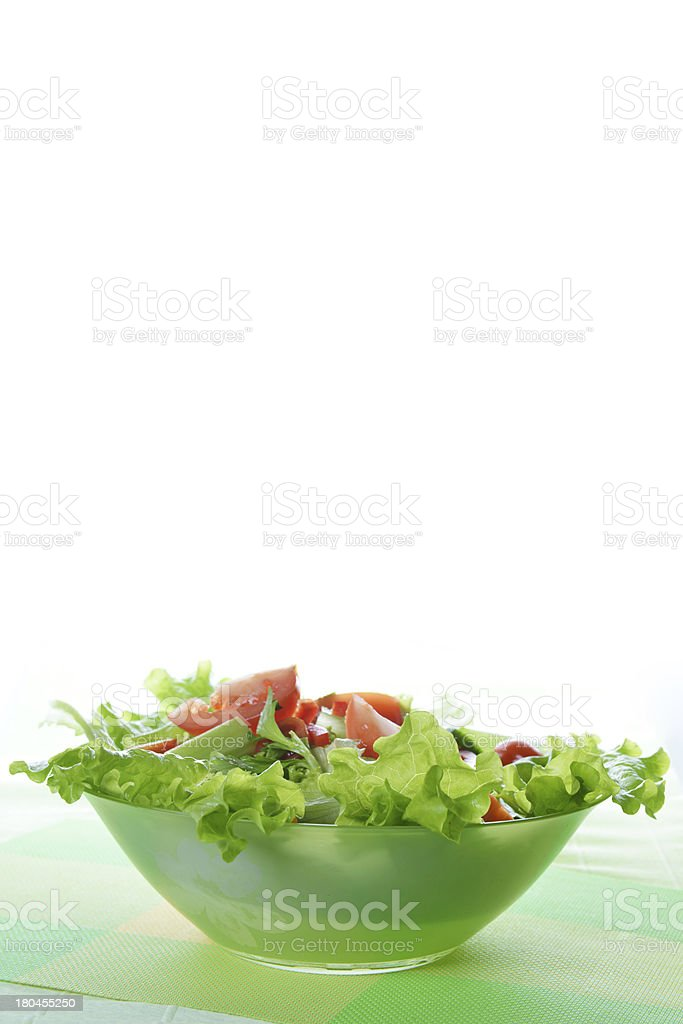 salad with vegetable royalty-free stock photo