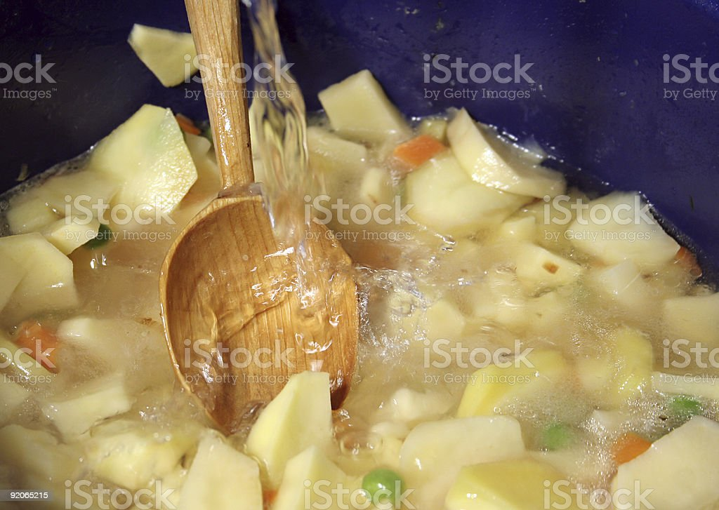 Salad with vegetables-carots royalty-free stock photo