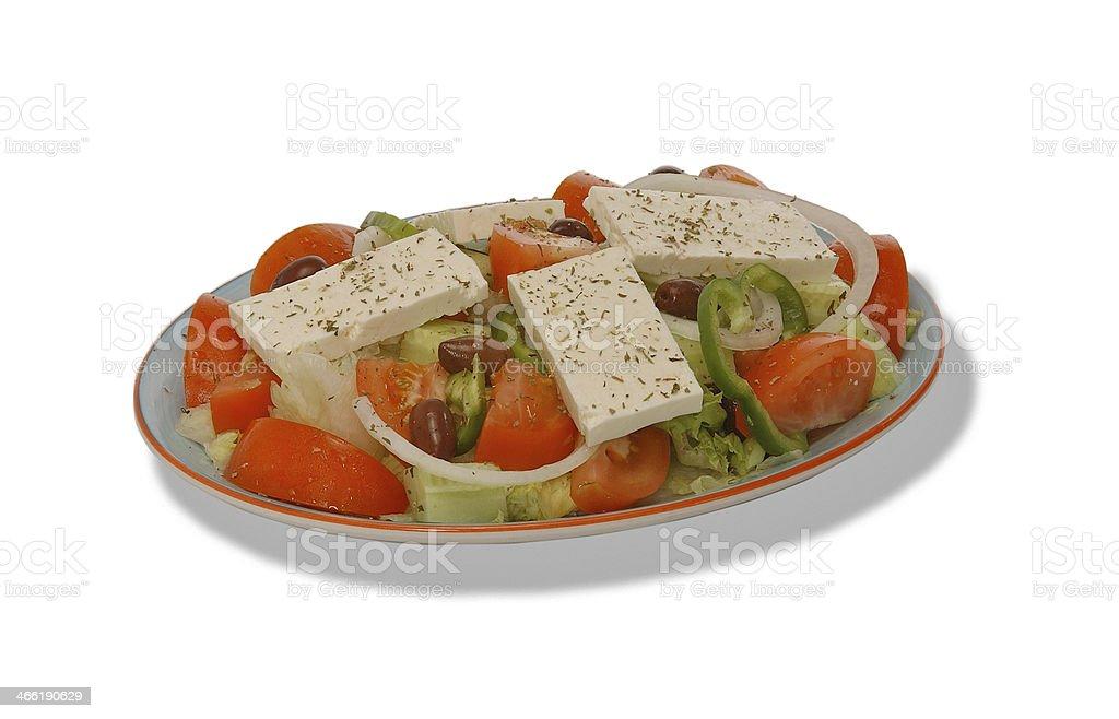 Salade Grecque royalty-free stock photo