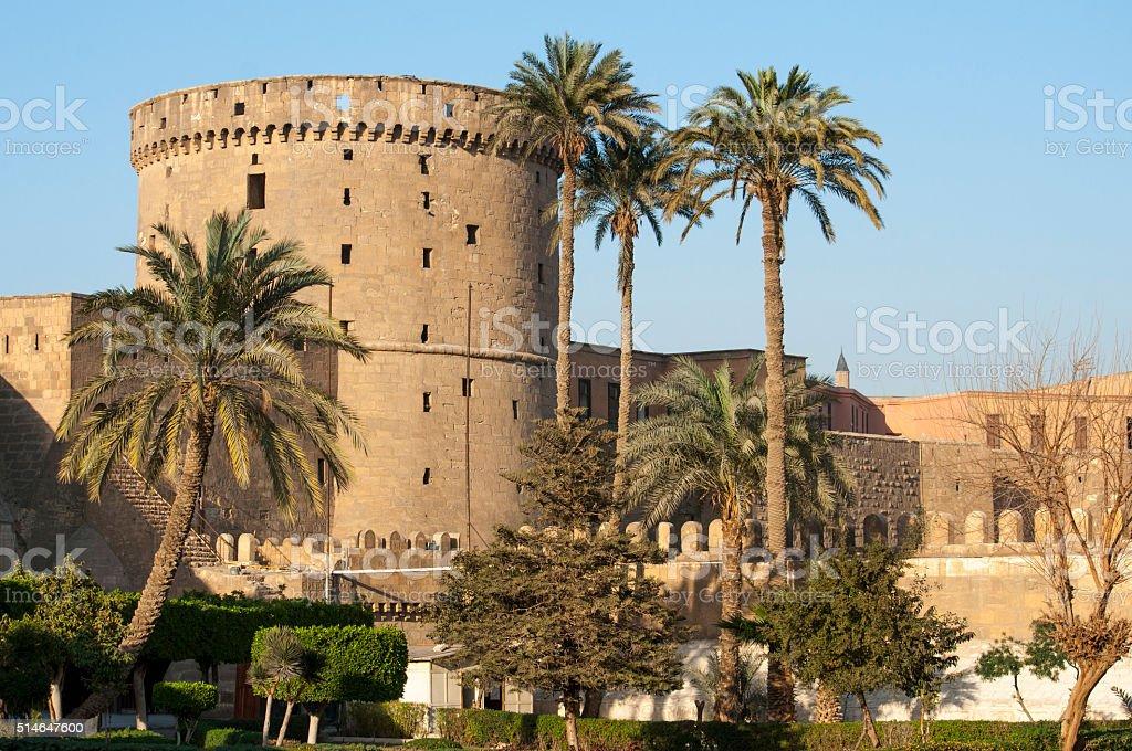 Saladin Citadel of Cairo, Egypt stock photo