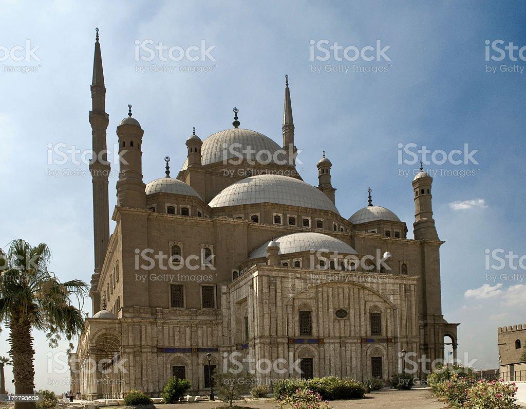 Saladin Citadel of Cairo,Mohammad Ali Mosque stock photo