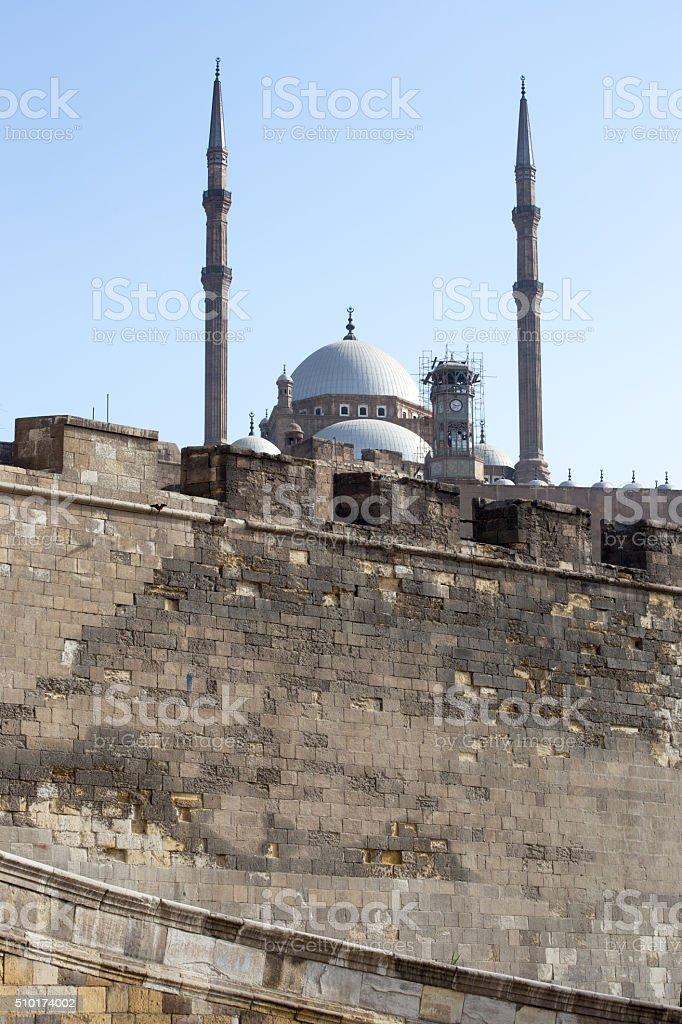 Saladin fortress stock photo