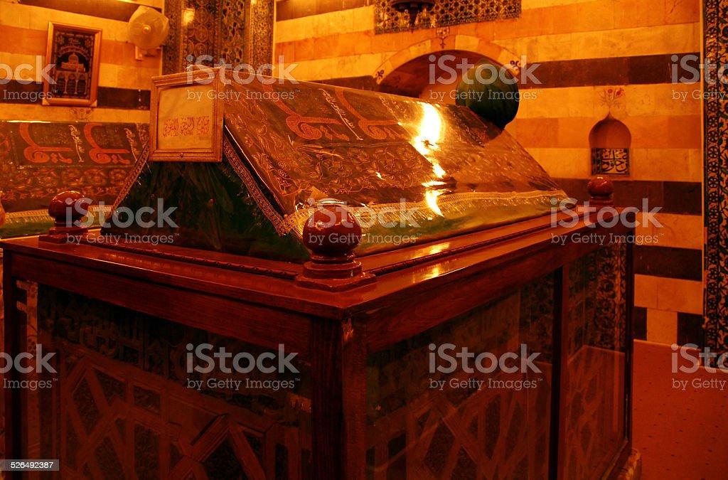 Saladin's tomb, Damascus, Syria stock photo
