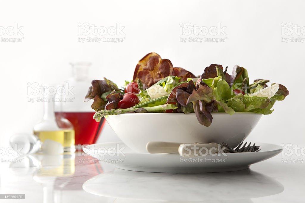 Salads: Healthy Salad Still Life royalty-free stock photo