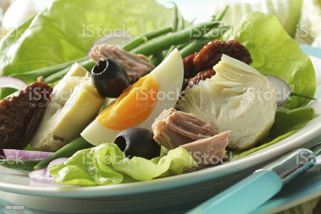 Salads: Nicoise Salad stock photo