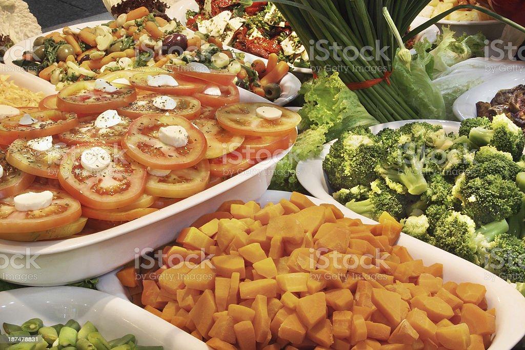 Salads royalty-free stock photo