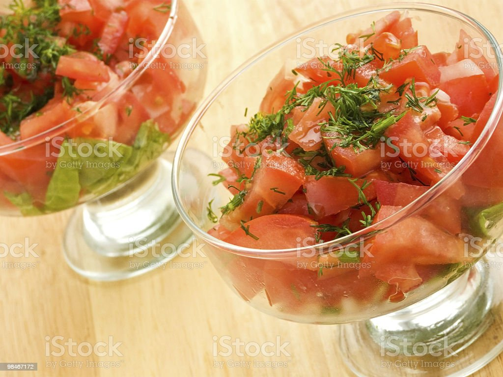 Salads royalty-free stock photo