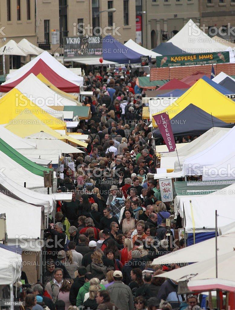 Salamanca Market stock photo