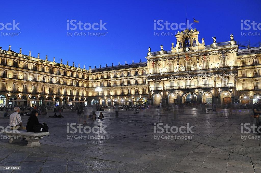 Salamanca. stock photo