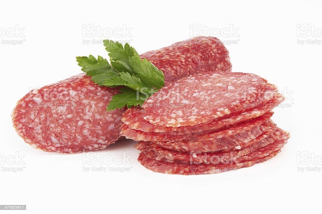 salami royalty-free stock photo