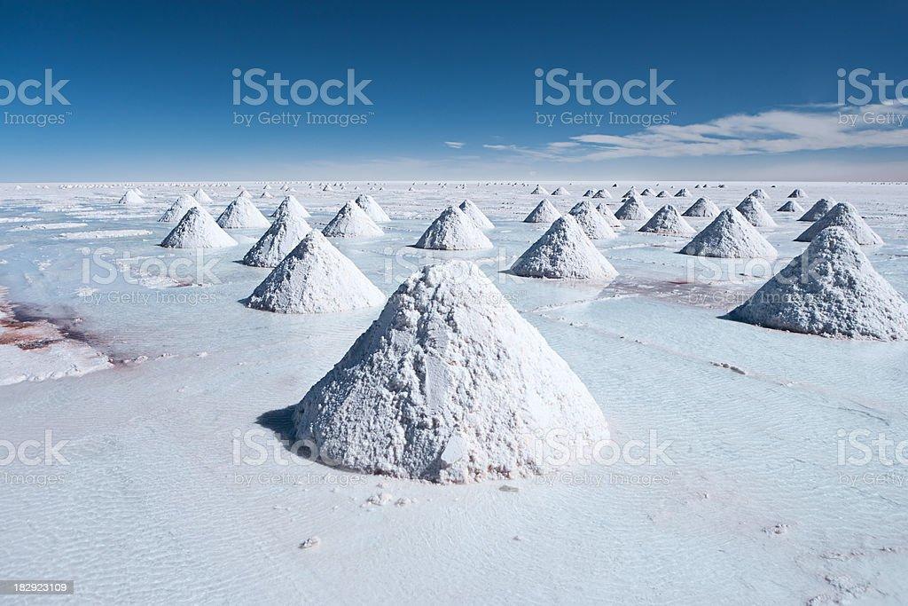 Salar de Uyuni, Altiplano Bolivia stock photo