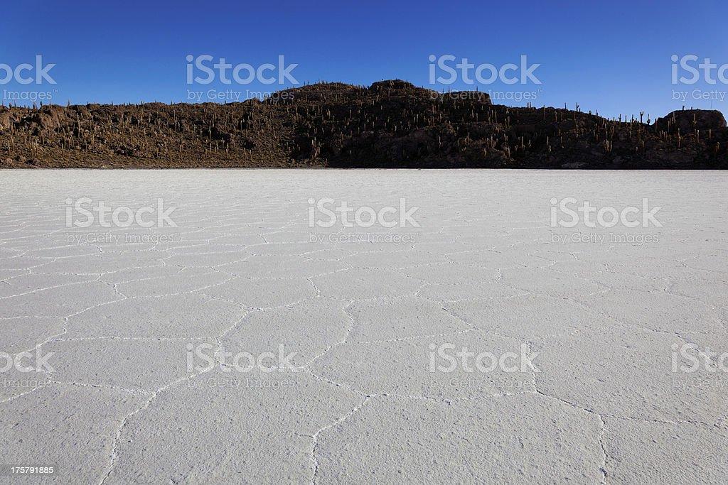 Salar de Uyuni, Bolivia, South America royalty-free stock photo