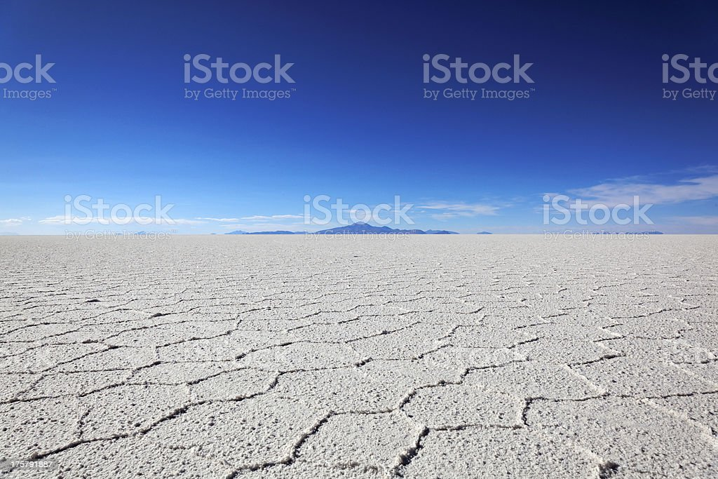 Salar de Uyuni, Bolivia, South America royalty-free stock photo