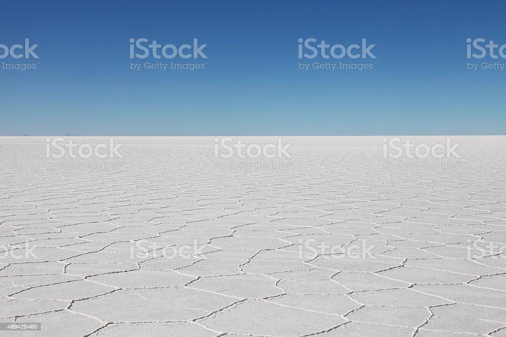 Salar de Uyuni (Salt Flat) stock photo