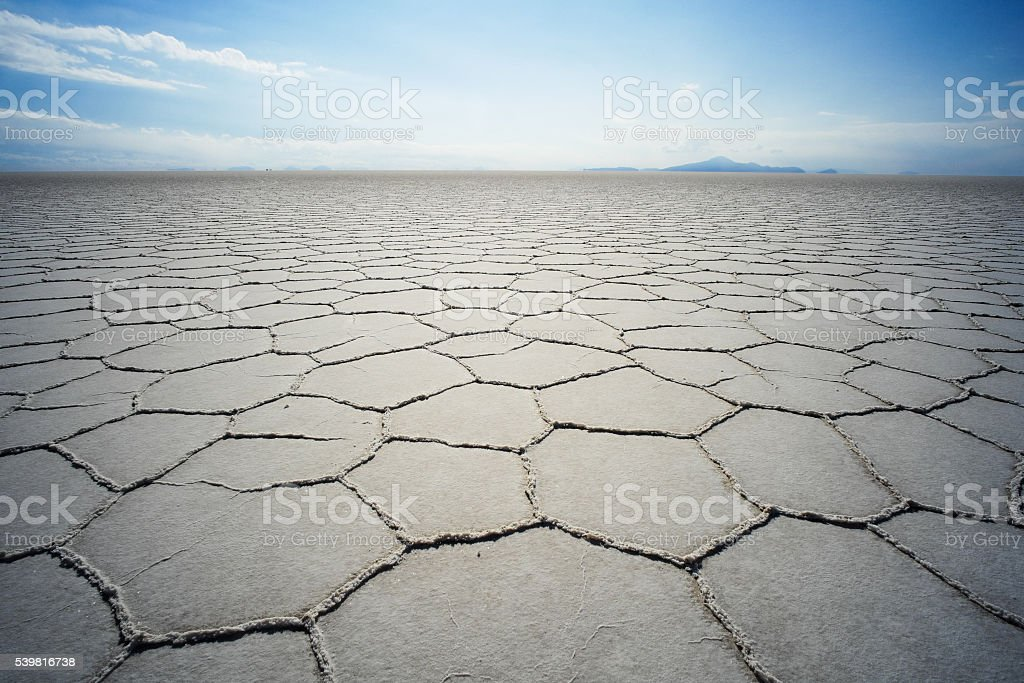 Salar de Uyuni stock photo
