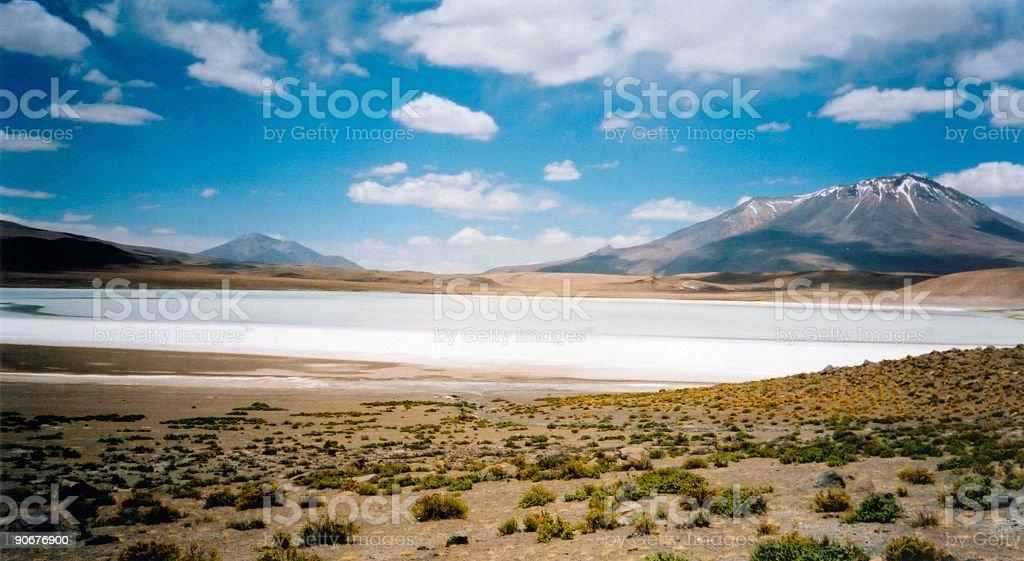 Salar de Uyuni salt lake bolivia royalty-free stock photo