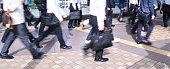 Salaried workers in commuting