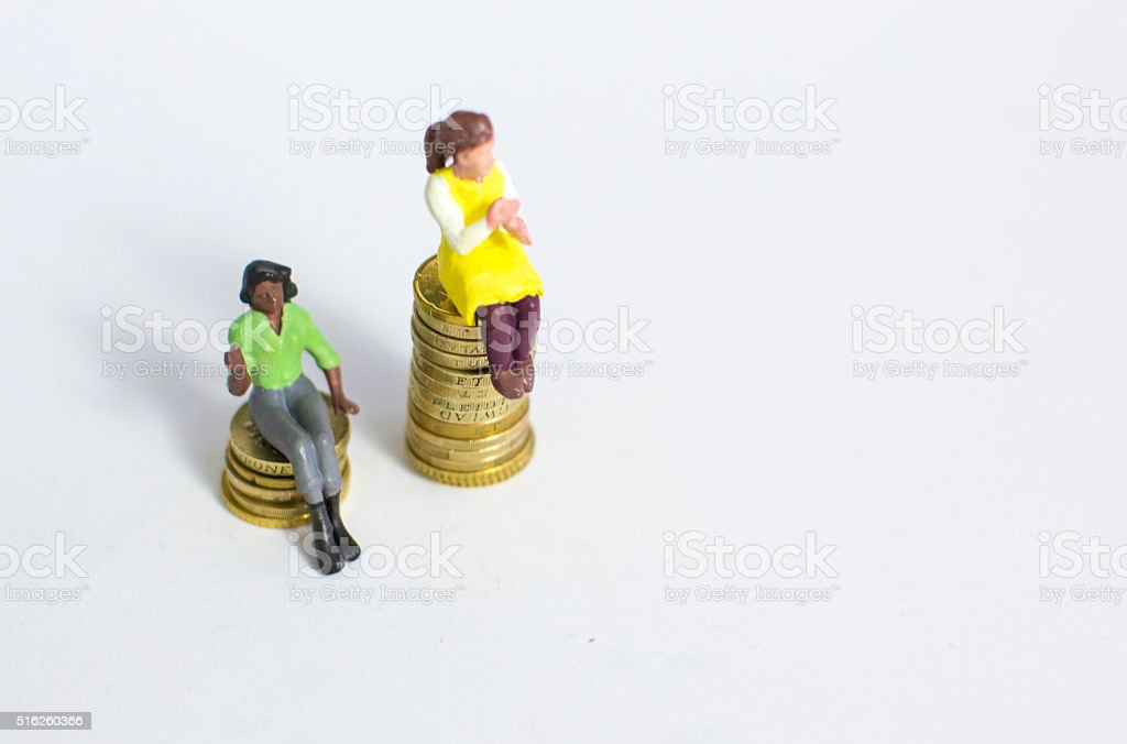 salary inequality stock photo