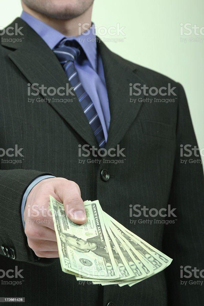 Salary royalty-free stock photo