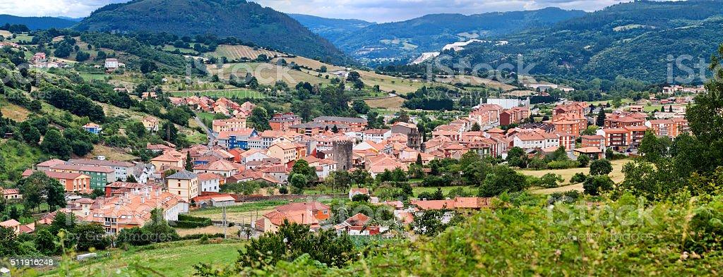 Salas, Oviedo, Asturias, Spain stock photo