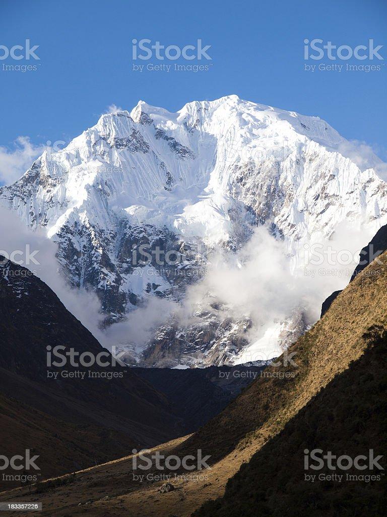 Salcantay Mountain, Peru stock photo