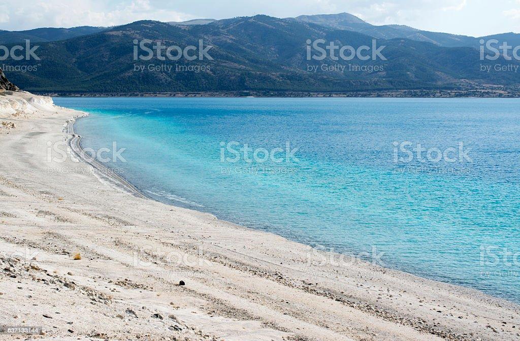Salda Lake stock photo