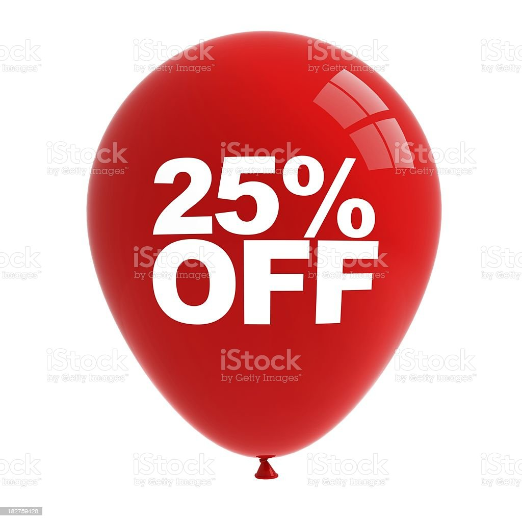 Sale Balloon royalty-free stock photo