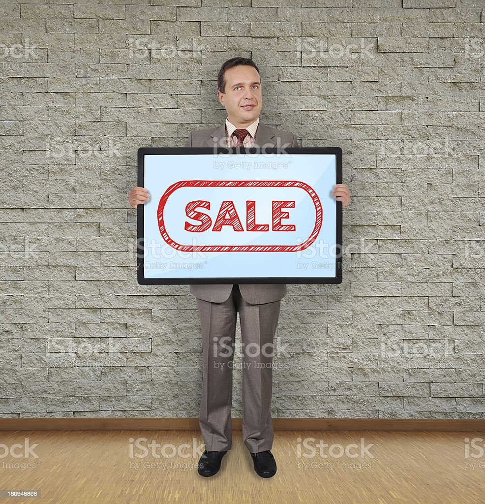 sale consept royalty-free stock photo