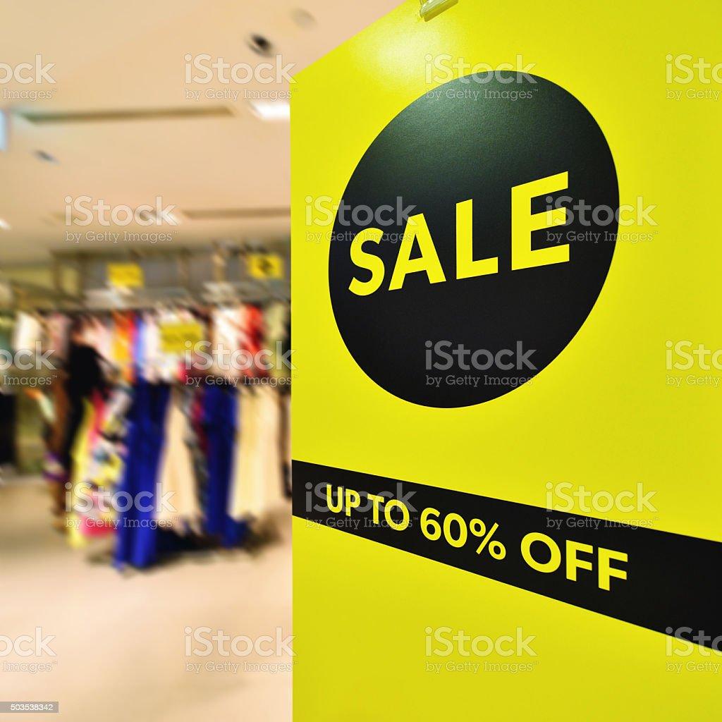 Sale Discount stock photo