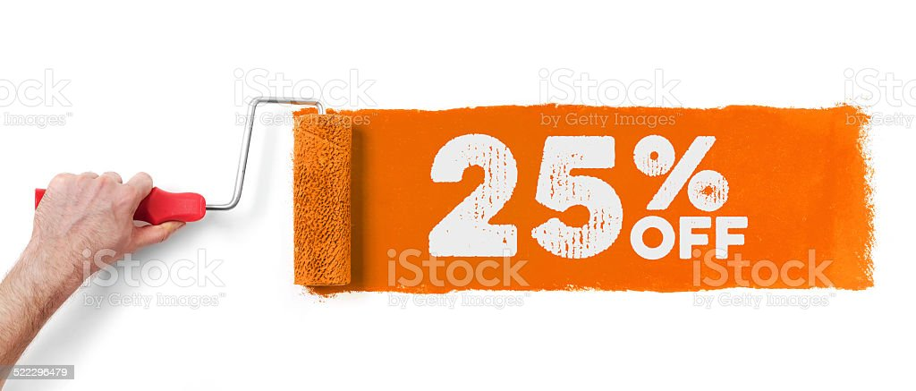 Sale event banner stock photo
