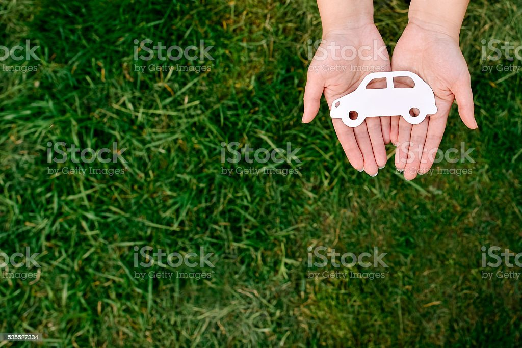 Sale or purchase of the car stock photo