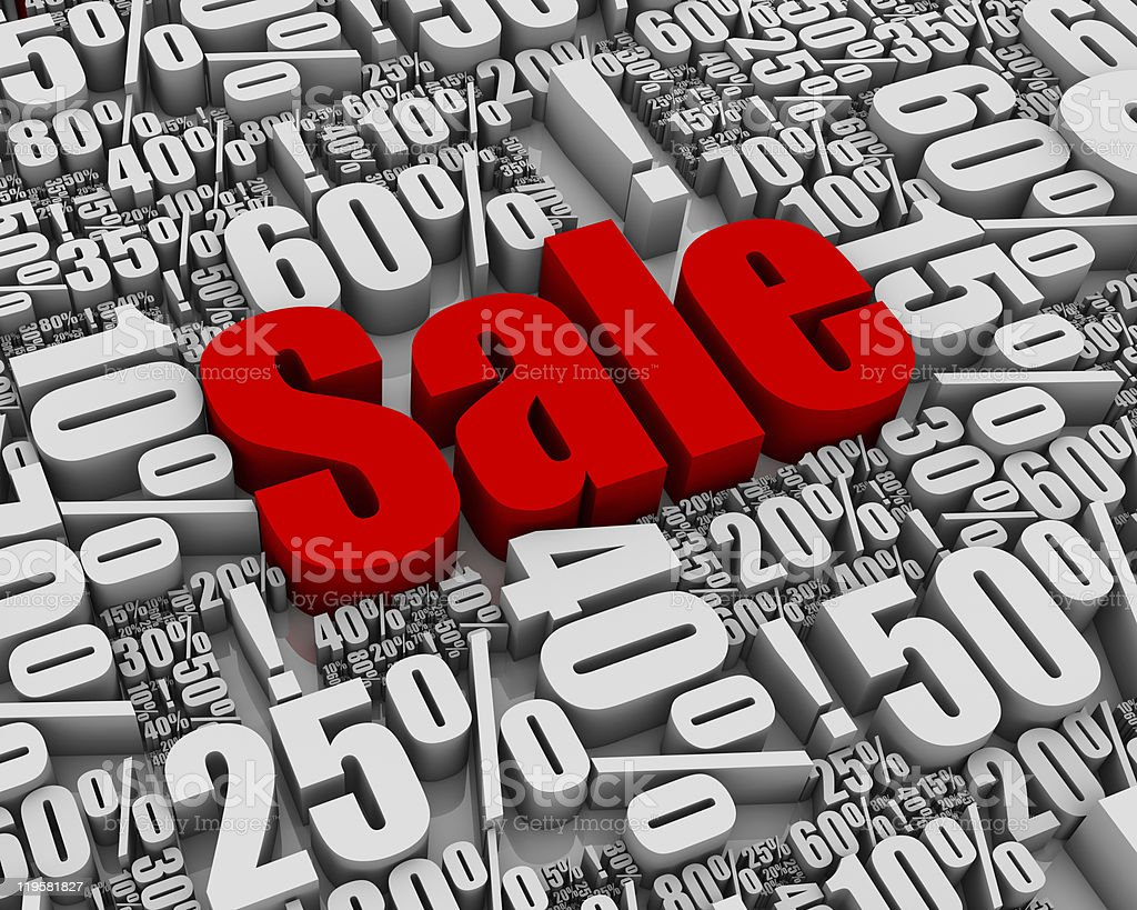 Sale! royalty-free stock photo