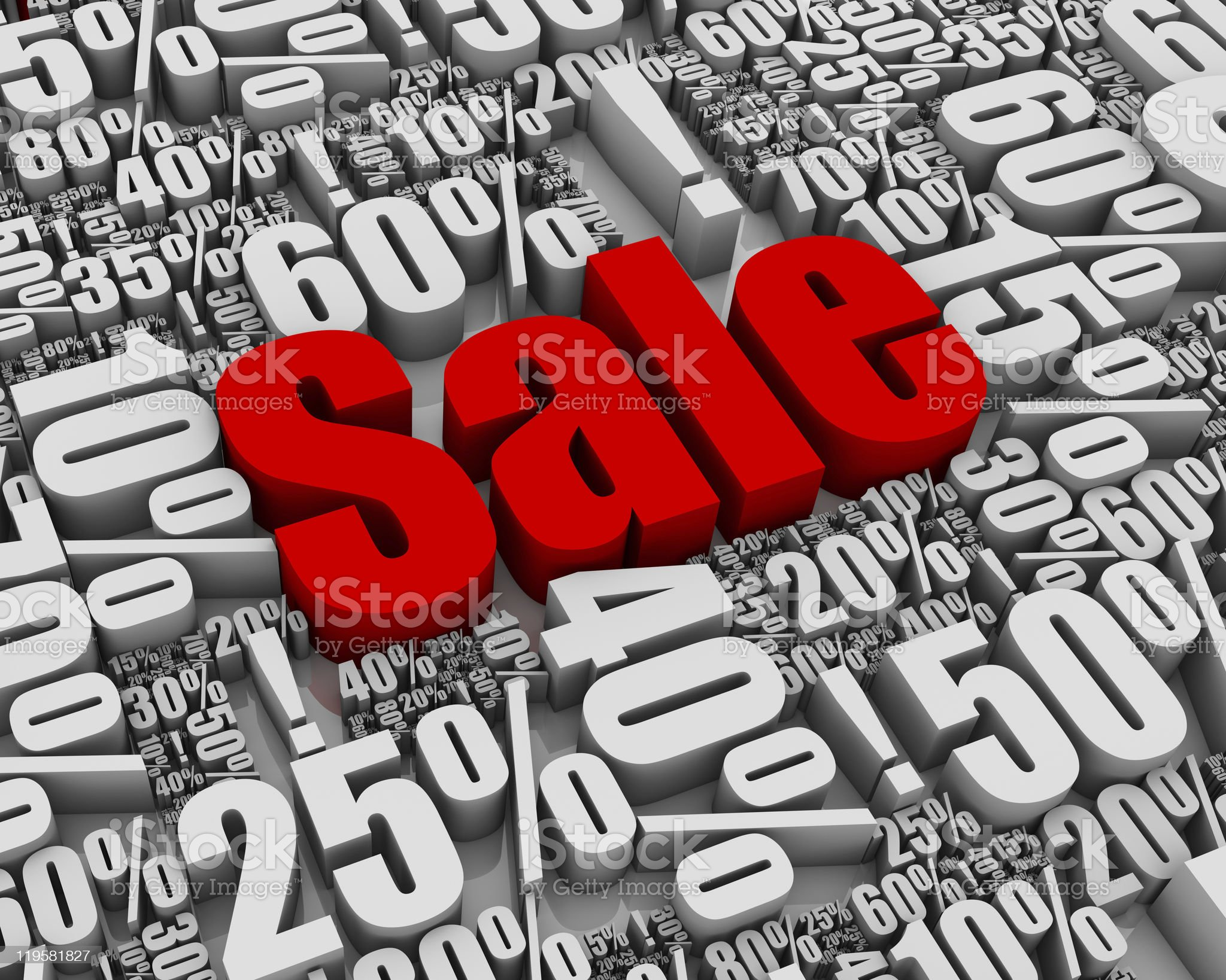 Sale! royalty-free stock photo