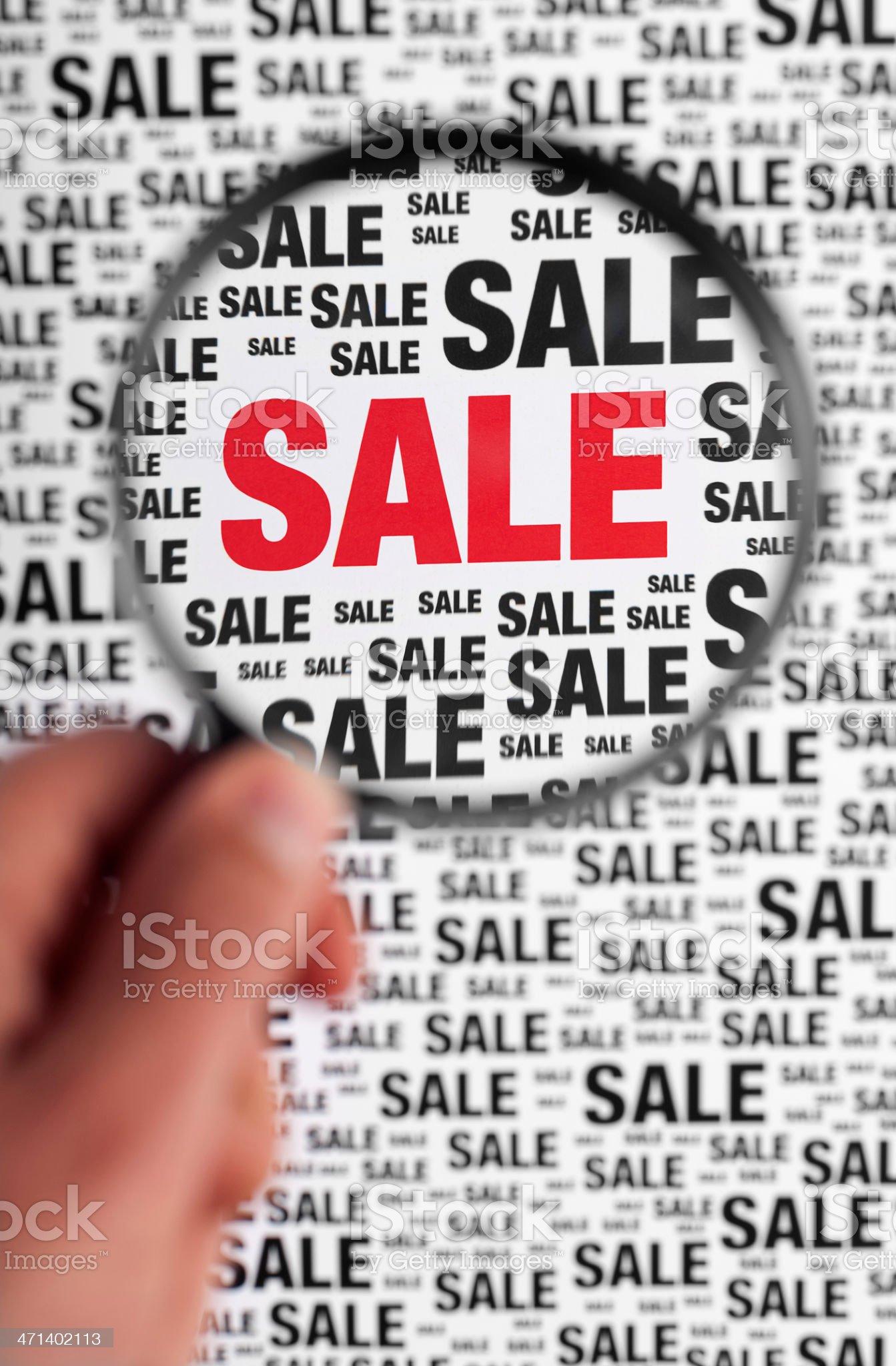sale royalty-free stock photo