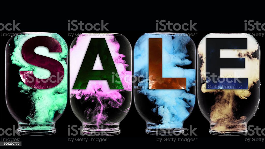Sale poster. stock photo