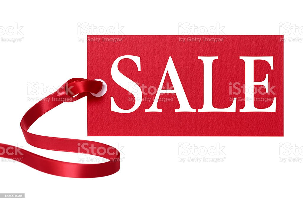 Sale price tag royalty-free stock photo