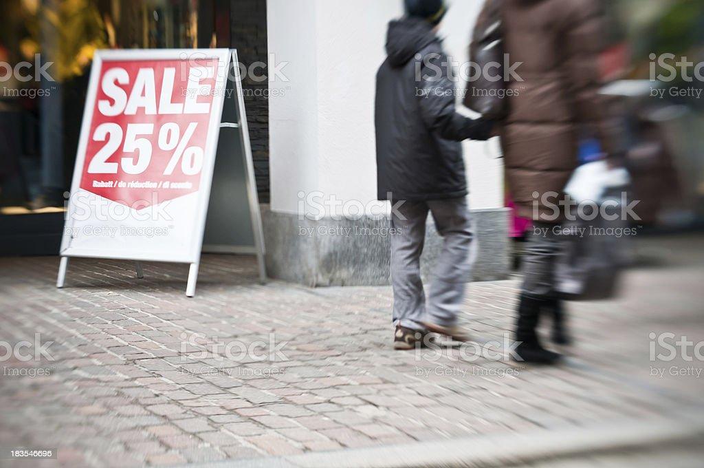 sale sign stock photo