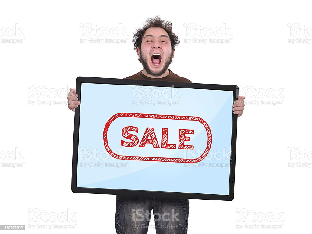 sale symbol royalty-free stock photo