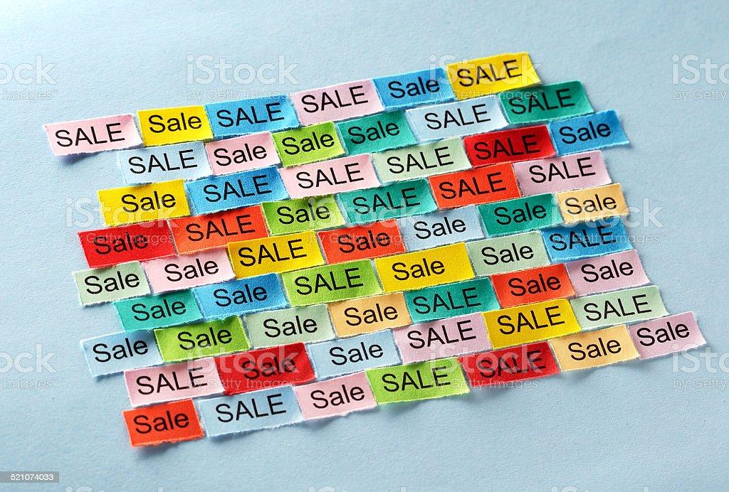 sale  tagcloud stock photo
