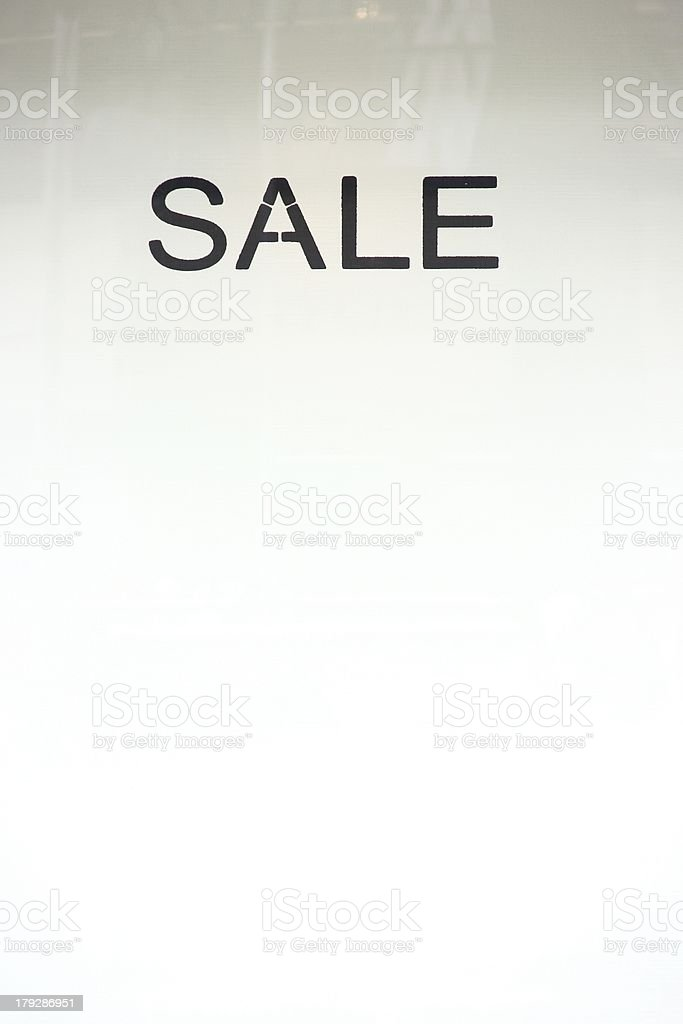 Sale Template royalty-free stock photo