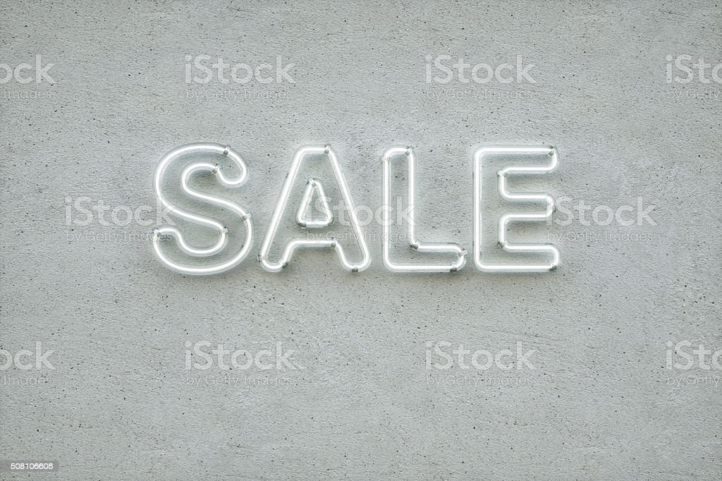 Sale Type stock photo