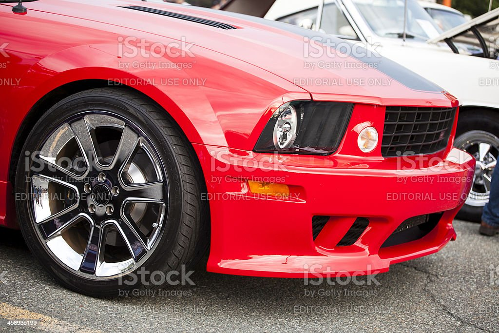 Saleen Ford Mustang stock photo