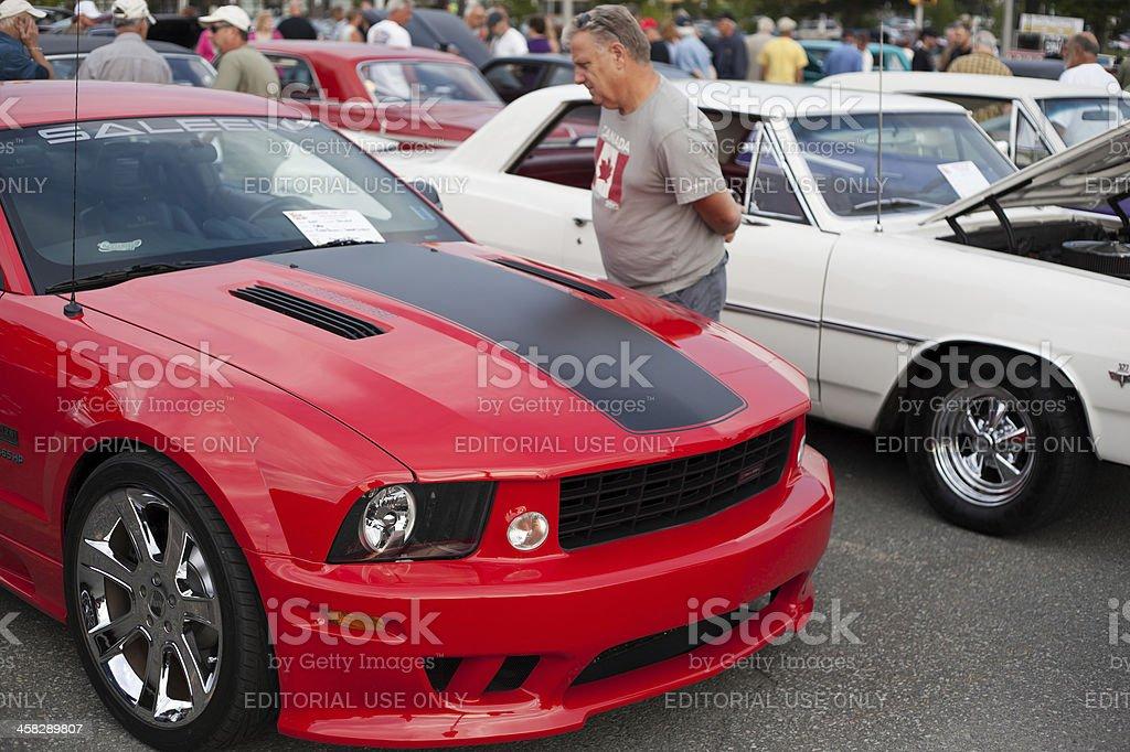 Saleen Mustang stock photo