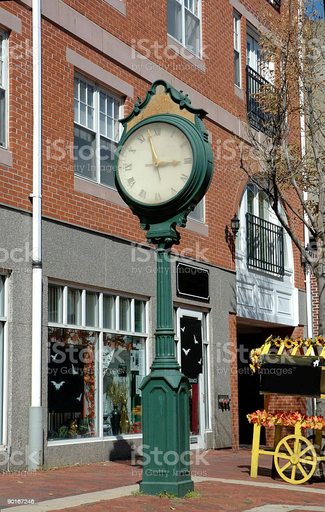 Salem clock royalty-free stock photo
