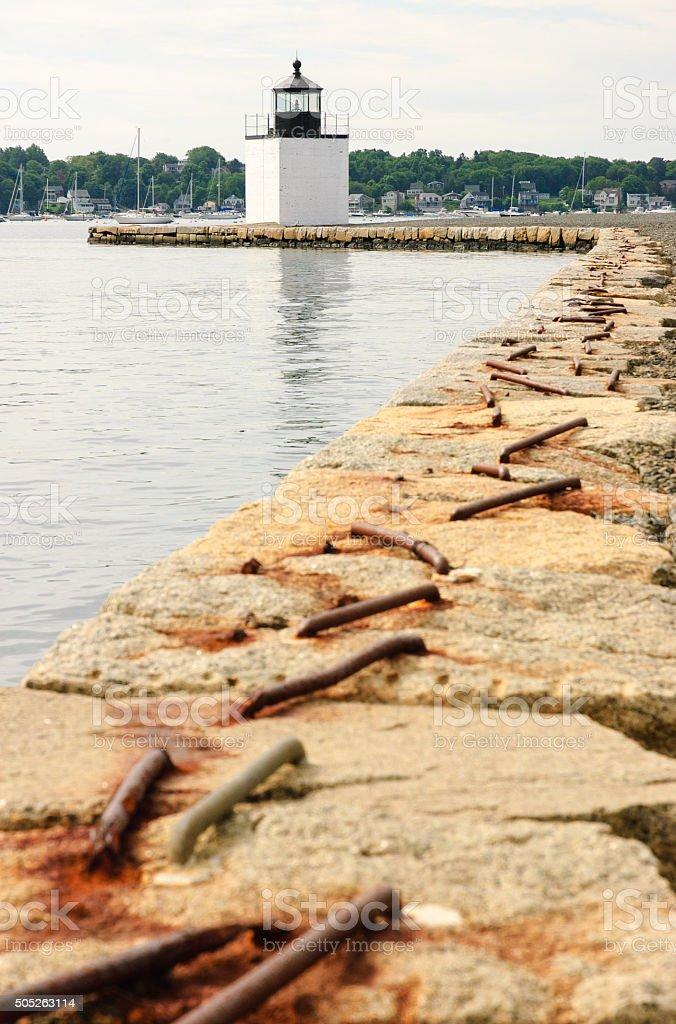Salem Maritime National Historic Site stock photo